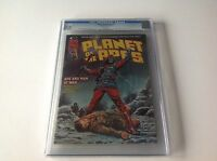 PLANET OF THE APES 11 CGC 9.0 WHITE PS HARD TO FIND BULLET HOLE IN HEAD MAGAZINE