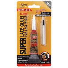 BMB Super Lace Glue For Lace Front Wigs Crazy Hold 0.4 Floz/12ml
