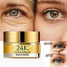 24K Gold Serum Anti-Wrinkle Eye Cream Remove Dark Circles Skin Care Beauty Y1S1