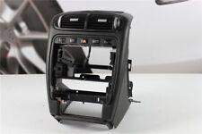 Porsche Cayenne 955 957 Mittelkonsole Blende Sitzheizung Leder schwarz