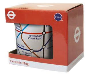 London Underground Tube Map White Ceramic Mug (gwc)