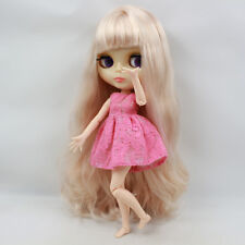 """Takara 12"""" Neo Blythe Transparent Skin Joint body Nude Doll from Factory TBY218"""