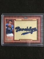 2011 Topps Throwback Manufactured Patch Card Update Series Dee Gordon Brooklyn