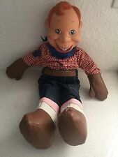 """VINTAGE 1988 *HOWDY DOODY* THREE CHEERS 21"""" PUPPET DOLL W/TAGS BY APPLAUSE."""