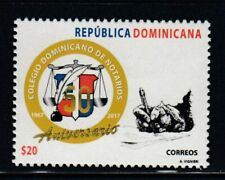 DOMINICAN REPUBLIC 50th Anniversary Notary College MNH stamp
