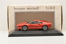 FERRARI 288 GTO 1984 RED HERPA 1/43 NEUVE EN BOITE