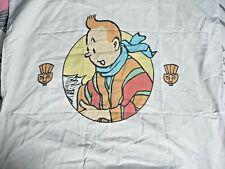 Taie d'oreiller Tintin, Hergé/Moulinsart 1996