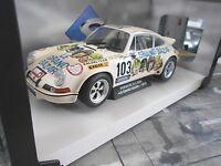 PORSCHE 911 Carrera 2.8 RSR Rallye Le Grand Bazar TdF 1973 #103 NEU Solido 1:18