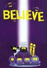 ORIGINAL 1998 FUNKY COMEDY CENTRAL SOUTH PARK BELIEVE POSTER 22X34 FREE SHIPPING