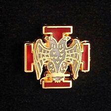 Masonic Scottish Rite 30th Degree Lapel Pin (30-LP)