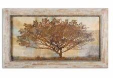 NEW Uttermost-51100-Autumn Radiance Sepia- Framed Art Light Wood/Gray-New In Box