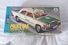 MISTER P POLICE CAR MERCEDES 450 SE 1970s R/C BATTERY OPERATED NEW BOXED