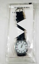 RARE NEW BEAUTIFUL MENS VERY SHINY CALVIN HILL WATCH IN THE ORIGINAL PACKAGE