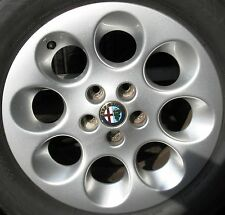 "CERCHI IN LEGA 15"" ORIGINALI x ALFA ROMEO GTV + 155 + 156 + 147"
