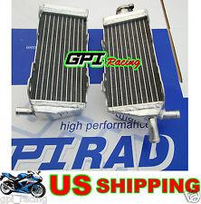 R&L aluminum radiator Honda CR 125 R CR125R CR125 CR 125R 1989 89