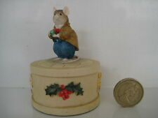 RARE BRAMBLY HEDGE  BHF19 MR APPLE BY CLASSIC COLLECTABLES TRINKET BOX