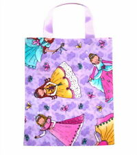 Princess 6 Fabric Party Goody Treat Gift Bags