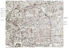 Jack the Ripper Locations Map - Whitechapel, London 1888