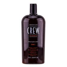 American Crew Classic 3 in 1 Tea Tree Conditioner Shampoo Bodt Wash (33.8 Fl Oz)