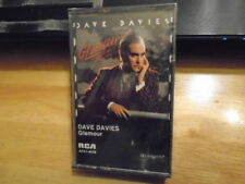 SEALED RARE OOP Dave Davies CASSETTE TAPE rock Glamour THE KINKS Argent Charlie