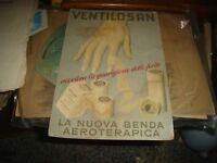Cartel Cartón 20 X 30 Publicidad Ventilosan-1951