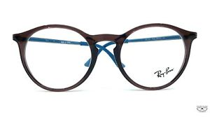 Ray Ban RB7132 5720 Brown/Blue Eyeglasses New Authentic 50