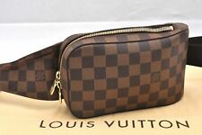 Authentic Louis Vuitton Damier Geronimos Shoulder Bag Body Bag N51994 LV 97240