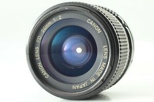 【EXC+++++】 Canon New FD 24mm f2 NFD MF Wide Angle Prime Lens from JAPAN