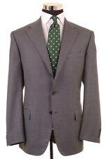 Corneliani Gray Club Check Houndstooth Wool Sport Coat Blazer Blazer 54 44 L