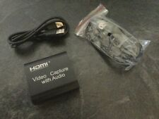 More details for new 4k hdmi video capture 3.5mm audio usb2.0 usb3.0 pc live streaming broadcast