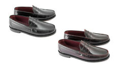 Ikon Loafers Shoes for Men with Upper Leather