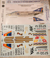 Microscale Decal #AC48-0062 CVW-14 F-4 VMFA-323, VMFA-531 & VMFA-312 (Decal)