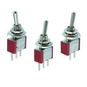 PCB Miniature Mini Toggle Switch On-Off, On-On, On-Off-On