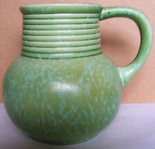 Unboxed Art Deco Green Pottery