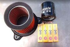 Service Kit for Honda XL 600 V Transalp,Spark Plugs,Air/Oil Filter & Sump Plug