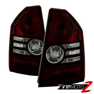 """[Rosso RED SMOKE] For 08-10 Chrysler 300C SRT8 """"Factory Style"""" Tail Light Lamp"""