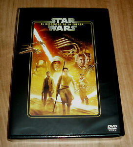STAR WARS EL DESPERTAR DE LA FUERZA DVD NUEVO PRECINTADO ACCION (SIN ABRIR) R2