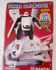 "ROBOMACHINE DX  BANDAI SUPER GOBOTS SPACE SHUTTLE ""SPAY-C"" MADE IN JAPAN!NUOVO"