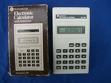 White Casio Electronic Calculator HL-810,WHSMITH ed.,100%works,boxed