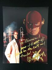 JOHN WESLEY SHIPP THE FLASH TV SERIES SIGNED 8 x 10 ORG AUTOGRAPH 1990 1991