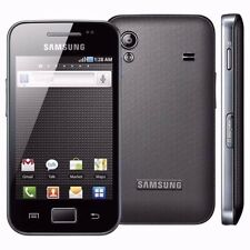 SAMSUNG Galaxy Ace GT-S5830i 4 GB Sbloccato Smartphone Nero Puro Senza Sim NUOVO