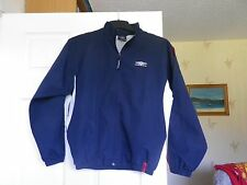 BOYS NAVY *UMBRO* JACKET SIZE LGE. BOYS 152 cm