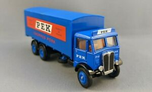 EFE E10504  - PEK Box Lorry Dark Green - Diecast Model - 00 Gauge 1/76 Scale