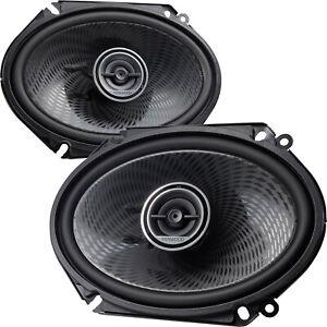 "Altoparlanti Ovali auto 6x8"" Woofer ellittici 15x20 cm Coppia Casse Speaker 4ohm"