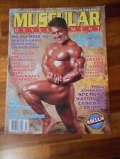 MUSCULAR DEVELOPMENT muscle magazine 1990 Ms Olympia/LEE LABRADA 3-91