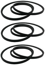 (3) Replacement Drive Belts for Delta 49-124 Unisaw 3450 RPM Motor