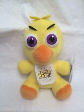"""New Authentic Five Nights At Freddy's Chica 7"""" Plush Stuffed FNAF USA Seller"""
