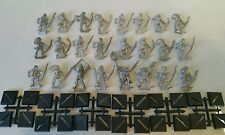 24 x SKARLOC'S Wood Elf Archers includes full command unpainted Scarce 1987 OOP