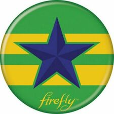 Firefly Serenity Independent Emblem Logo Licensed 1.25 Inch Button 86042