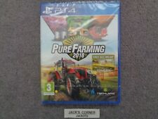 Pure Farming 2018  PS4 Game - NEW & SEALED - UK FREE POSTAGE
